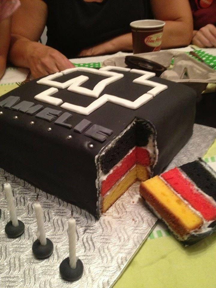 rammstein cake