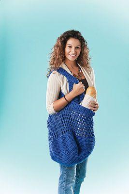 Crocheted Market Bag