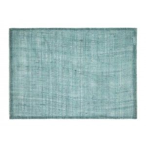 Natural linnen placemat in ocean green from Dixie