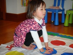 Using animal play to promote gross motor development and motor planning