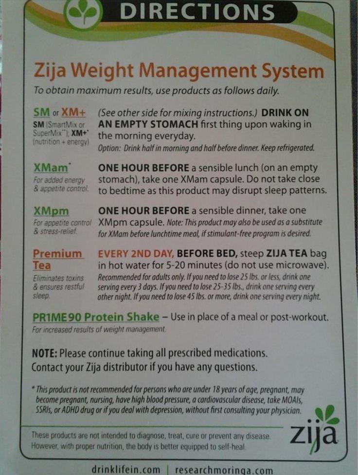 Zija Weight Management System!