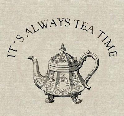 The British stereotype - British enjoy their tea.