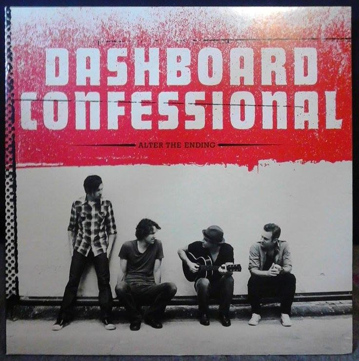 Dashboard Confessional Alter The Ending On Vinyl