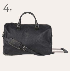 Citta Design Black Tolley Travel Bag