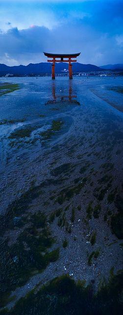 広島、厳島神社、絶景