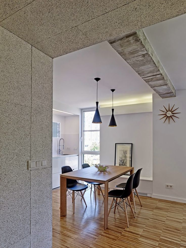 Luz encastrada falso techo sobre cocina, Vivienda G