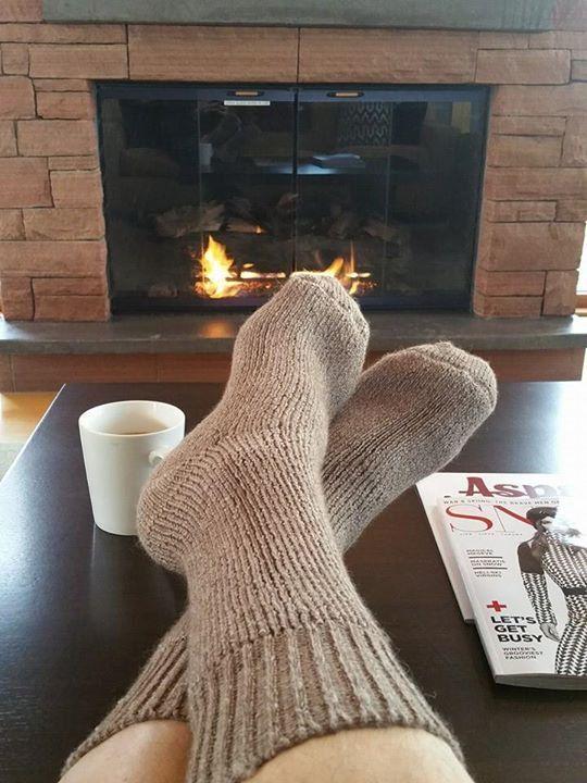 """Superwarm"" Heavy Extreme Alpaca Socks"