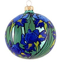 Irises Ornament
