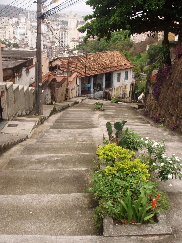 Steps, steps, steps! Santa Teresa - Rio de Janeiro.