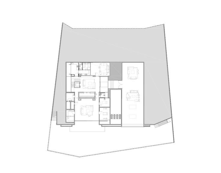 Gallery of 65BTP-HOUSE / ONG&ONG Pte Ltd - Basament Floor Plan