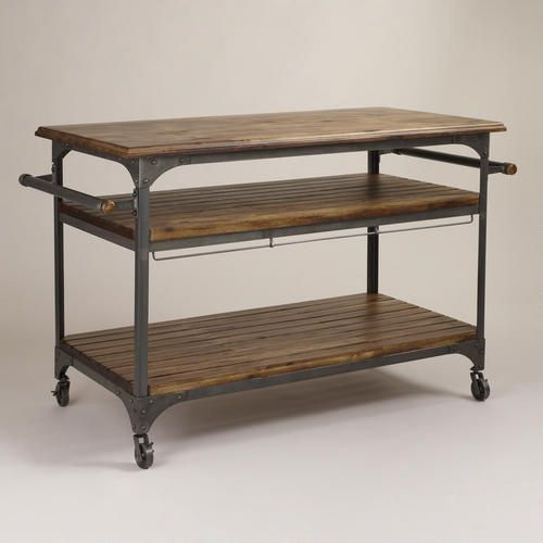 Kitchen cart, but I might use this for my art room - World Market