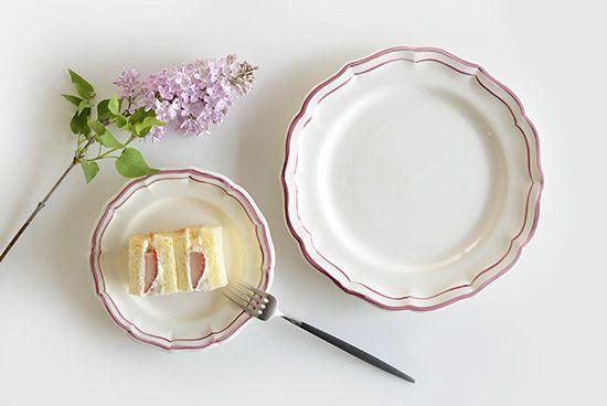 ジアン/フィレローズ/デザートプレート(径23cm) - 北欧雑貨と北欧食器の通販サイト| 北欧、暮らしの道具店