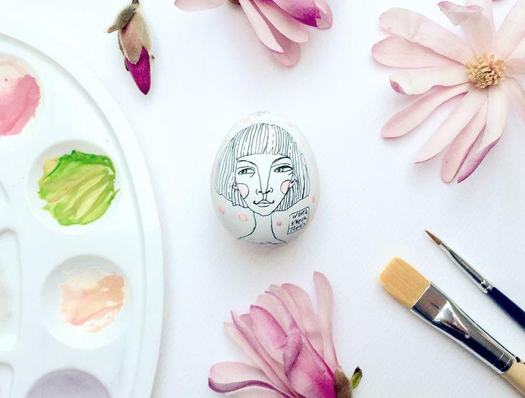 Easter Egg, illustration by Ivona Knechtlova