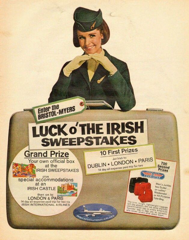 Aer Lingus Advert, 1960s