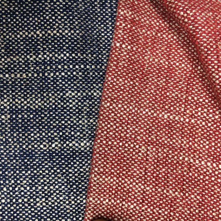 Atlantic Linen: in crimson and indigo. www.whatnot.co.za