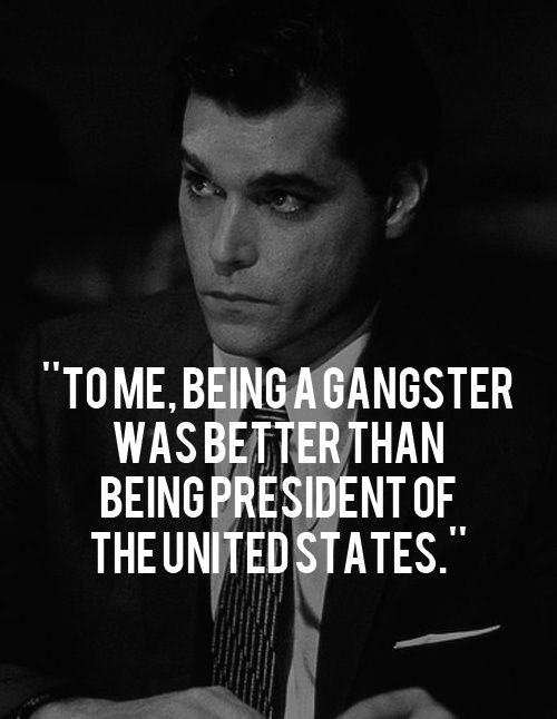 Goodfellas<3 Love me some Ray Liotta!