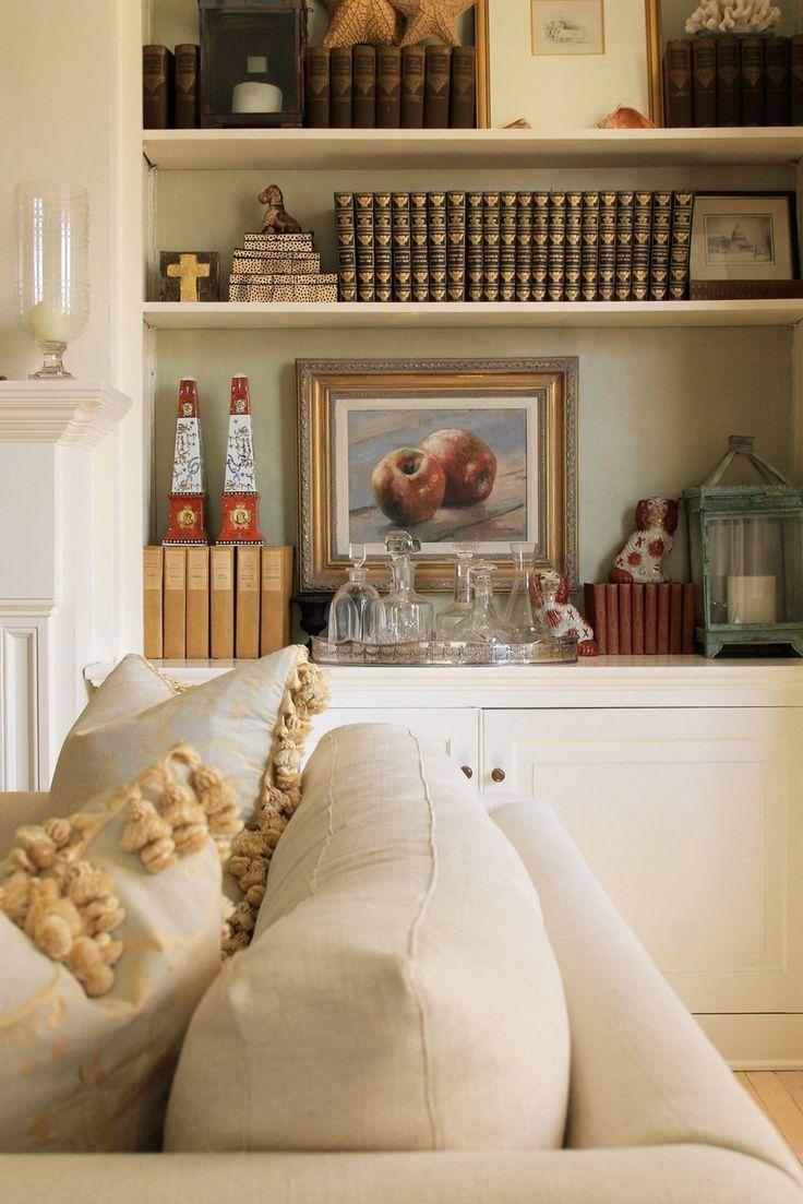 188 best Shelf \u0026 Mantel Decor ! images on Pinterest | Christmas ...