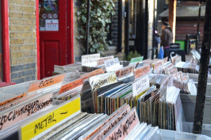 Vinyl store - Camden Market - London - UK