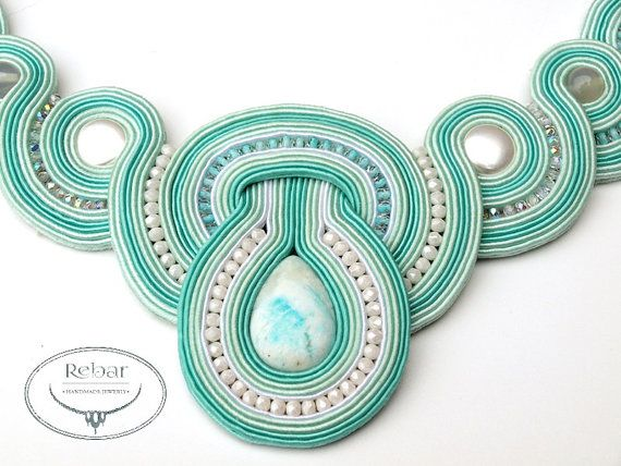 Soutache Necklace Enid