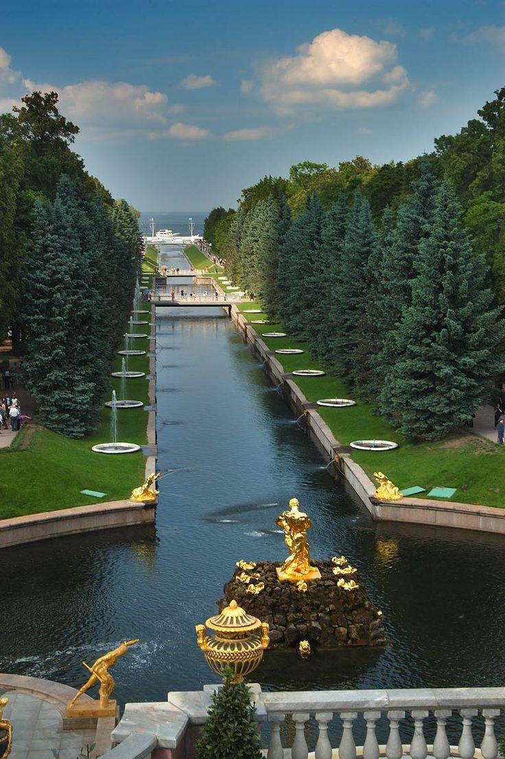 Peterhof, St Petersburg, Russia.