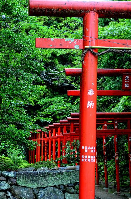 Green and Red - Ōmura Jinja Shrine, Nagasaki, Japan 大村神社 長崎