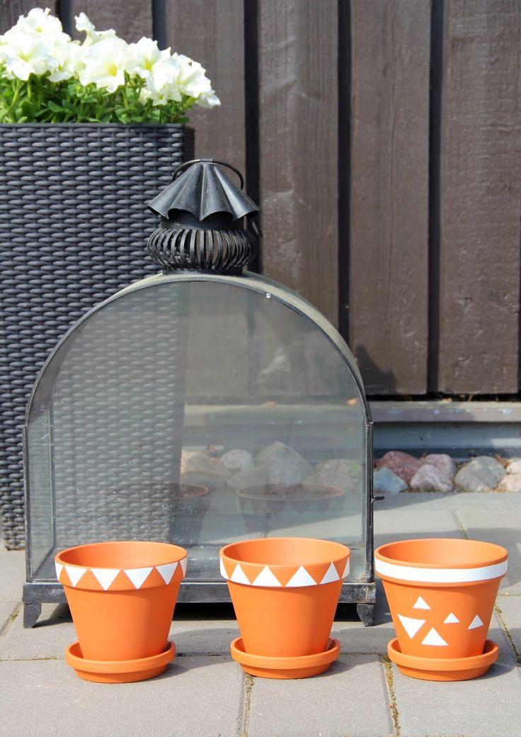 CIRKUS: tuunatut kukkaruukut // pimped flowerpots