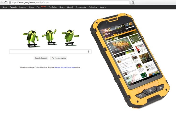 A2 Waterproof Android Phone Mtk6575 3g Gps Android 4 0