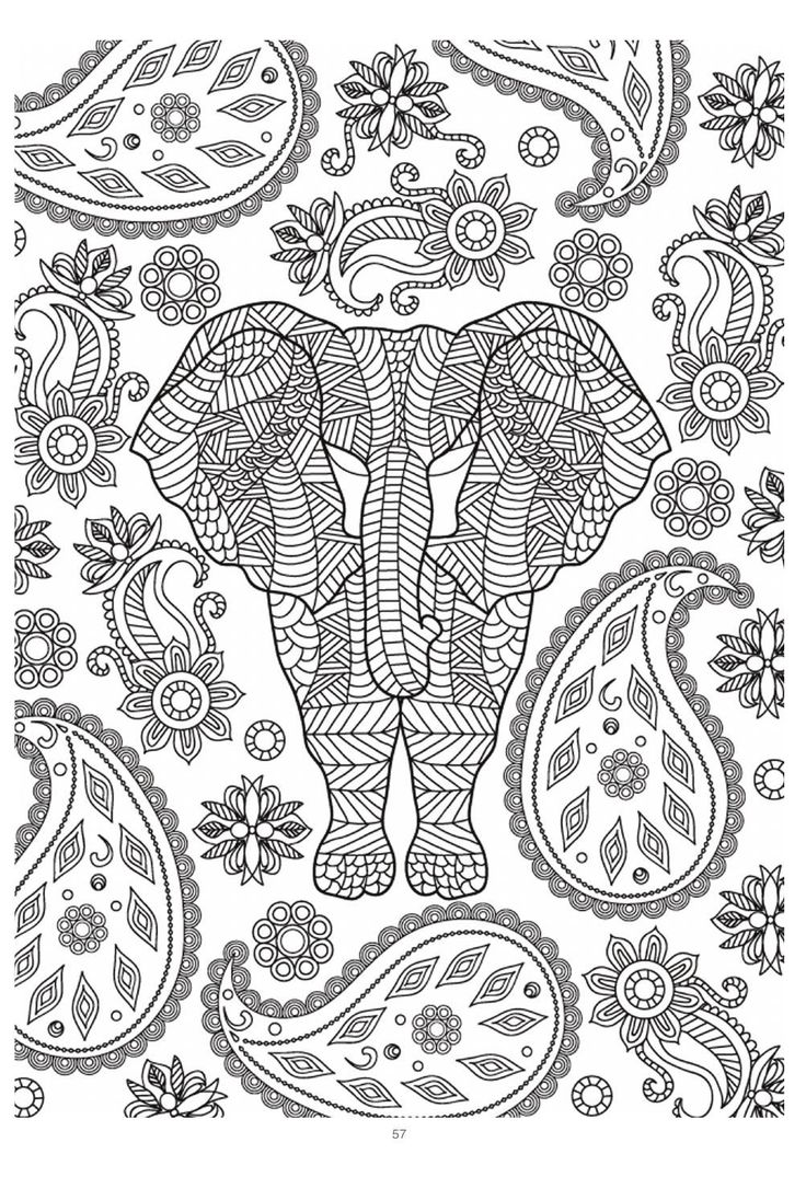 Lotus designs coloring book - Mind Massage Colouring Book For Adults