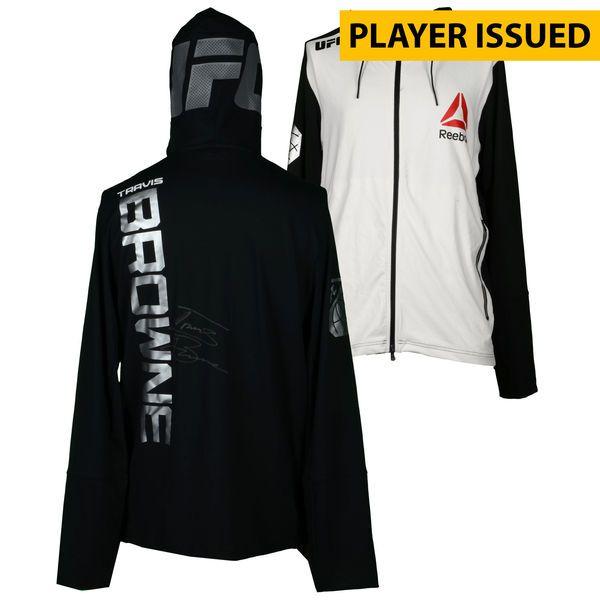 Travis Browne Ultimate Fighting Championship Fanatics Authentic Autographed UFC Fight Night: Dillashaw vs. Cruz Fighter-Issued Walkout Hoodie - Defeated Matt Mitrione via Third Round TKO - $249.99