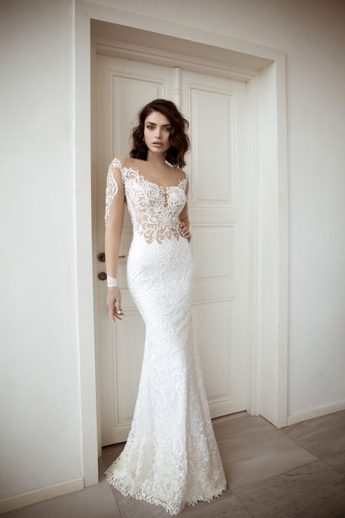 Lace Wedding Dress On A Hose Base The Great Fun In Designing Bride Dresses Is