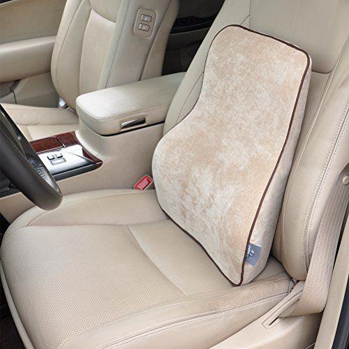 Dreamer Car Premium Memory Foam Car Seat Lumbar Cushion