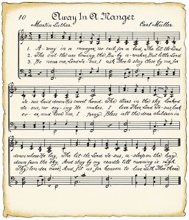 VintageFeedsacks: Vintage Christmas Music Song Sheets