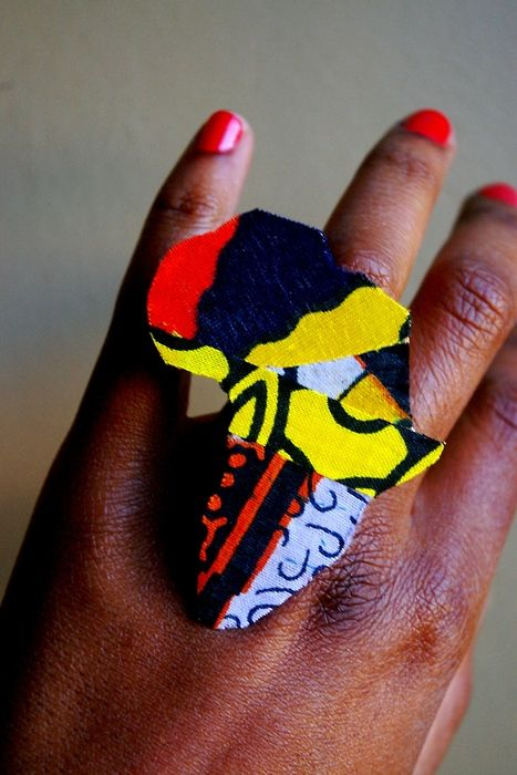 Wax Africa Rings