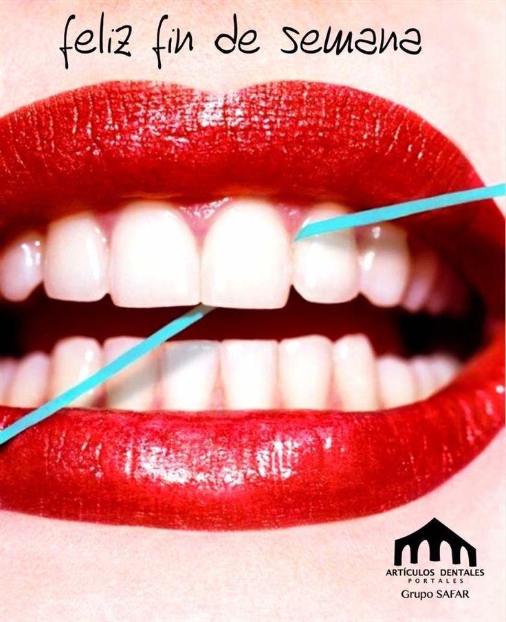 Dentistas, hoy es viernes de hilo dental iiiiiiuuuuu! A disfrutarlo...
