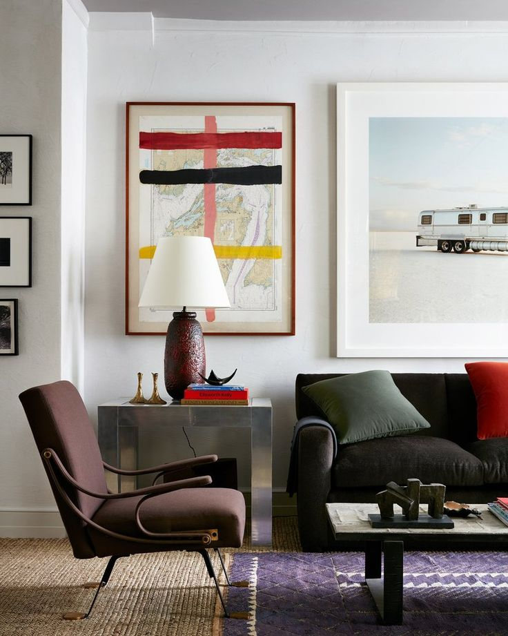 Contemporary Living Room In New York Ny By Kips Bay Decorator Show House