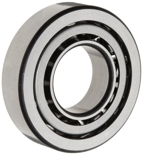FAG 7207B-TVP-UA Angular Contact Ball Bearing, Single Row, Open, 40xb0 Contact Angle, Polyamide/Nylon Cage, Normal Clearance, Metric, 35mm ID, 72mm OD, 17mm Width, 11000rpm Maximum Rotational Speed, 4150lbf Static Load Capacity, 6100lbf Dynamic Load Capacity,