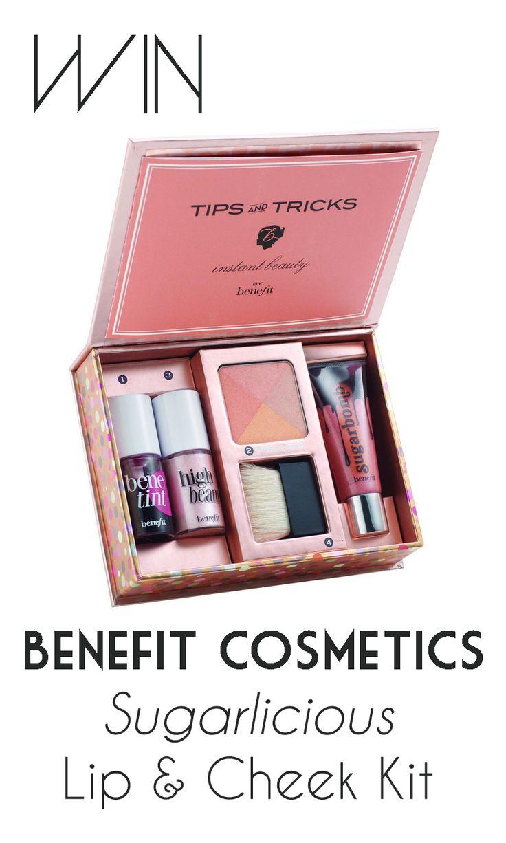Enter to win: Benefit Cosmetics Sugarlicious Lip