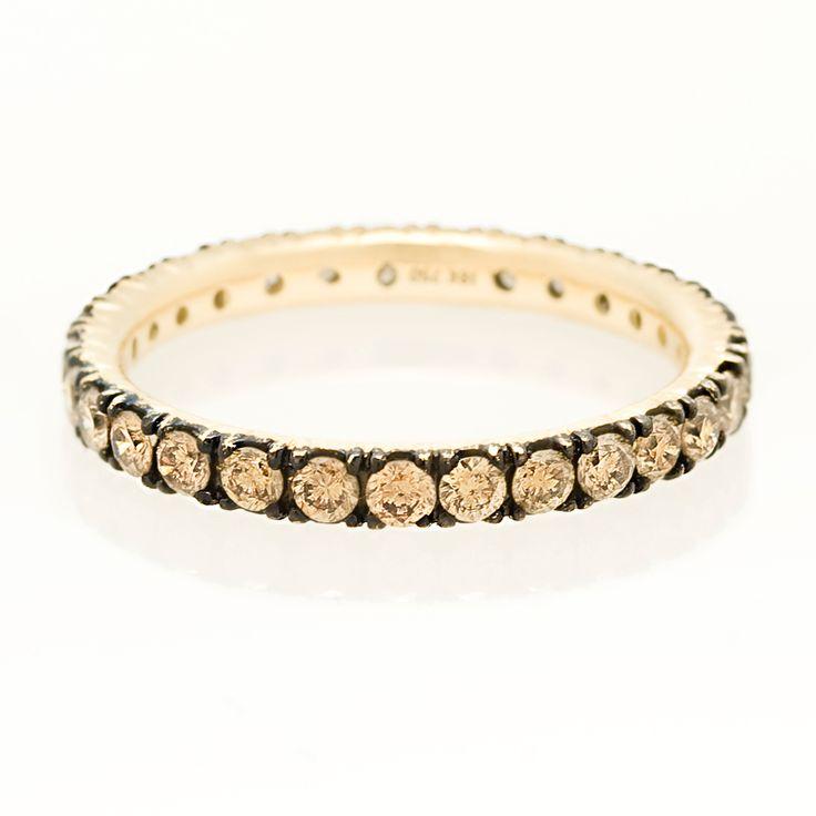 Black Ring Dimond Ring