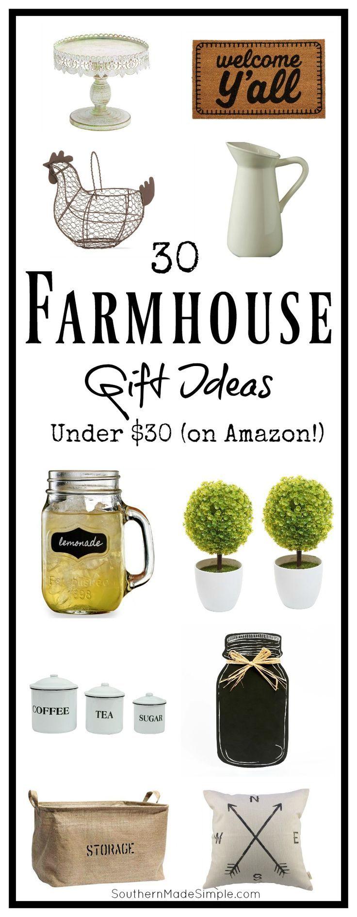 30 Farmhouse Gifts Under 30 On Amazon Lovers Amazon