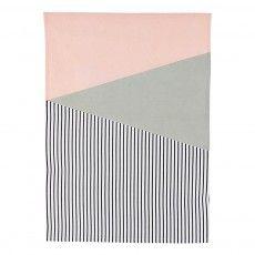 Geometric Print Tea Towel Multicoloured