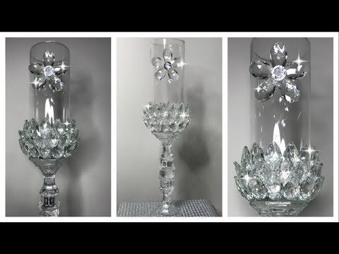 Diy Dollar Tree Animal Print Candle Holder | Diy C…