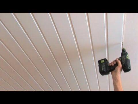 Montering av takpanel - YouTube