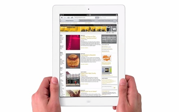 So you know...iPad HD reviews
