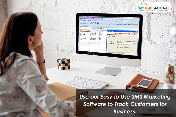 Use our Easy to Use SMS Marketing Software to Track Customers for Business. @ http://www.mysmsmantra.com/