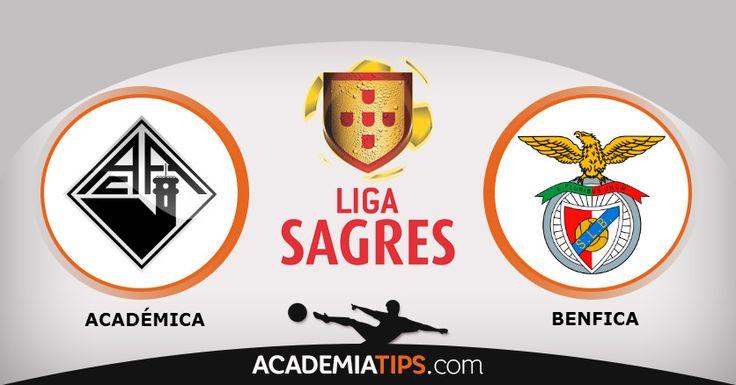 Académica x Benfica: A Académica recebe o ex-líder(à condição) Benfica, em jogo a contar para a 11ª jornada da 1ª Liga Portuguesa. Um campo onde o Benfica..  http://academiadetips.com/equipa/academica-x-benfica-primeira-liga/