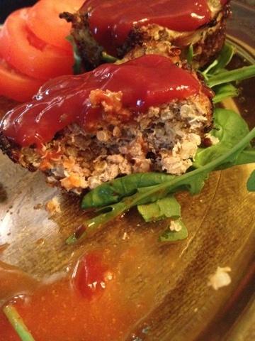 Easy & Healthy Dinner: Turkey & Quinoa Muffins #healthyfood #healthfood #healthy #quinoa #recipe #easy
