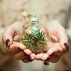 How to make your own personalised Christmas baubles  Image: Debs Ivelja Photography