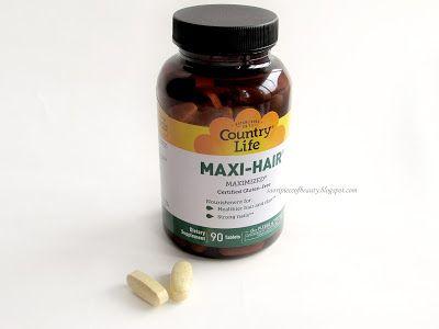 A piece of beauty: Витамины для волос и кожи Maxi hair от Country lif...