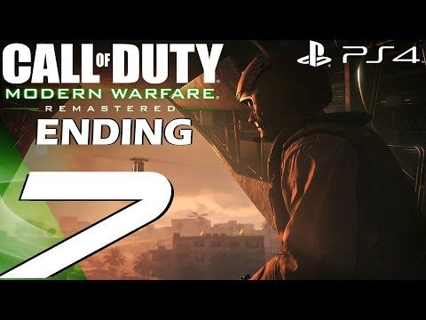 http://callofdutyforever.com/call-of-duty-gameplay/call-of-duty-modern-warfare-remastered-ps4-gameplay-walkthrough-part-7-final-mission-ending/ - Call of Duty Modern Warfare Remastered (PS4) - Gameplay Walkthrough Part 7 - Final Mission & Ending  COD4 Remastered Call of Duty 4 Modern Warfare Remastered Campaign Gameplay Walkthrough PS4 Xbox One PC 1080P 60FPS Let's Play Full Game Guide. Subscribe for more! Patreon: https://www.patreon.com/Shirrako Join a community of g