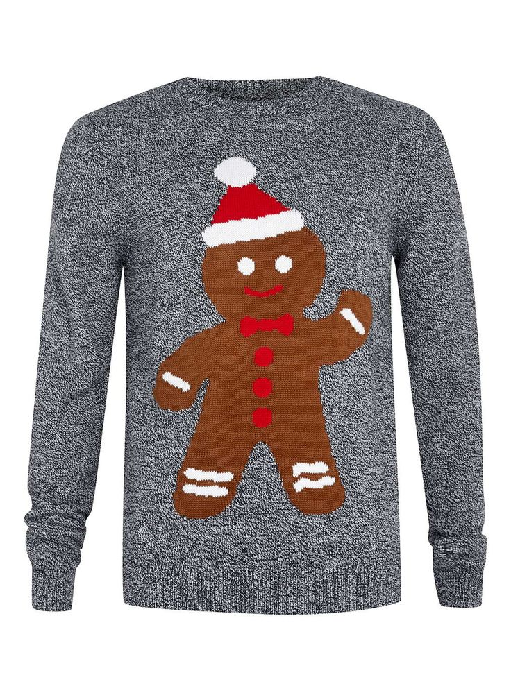 Gingerbread Man Jumper Knitting Pattern : 1000+ ideas about Mens Christmas Jumpers on Pinterest Mens Novelty Christma...